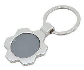 Laser Keyring, Lase Logo on Mertal Key Chain (GZHY-KC-015)