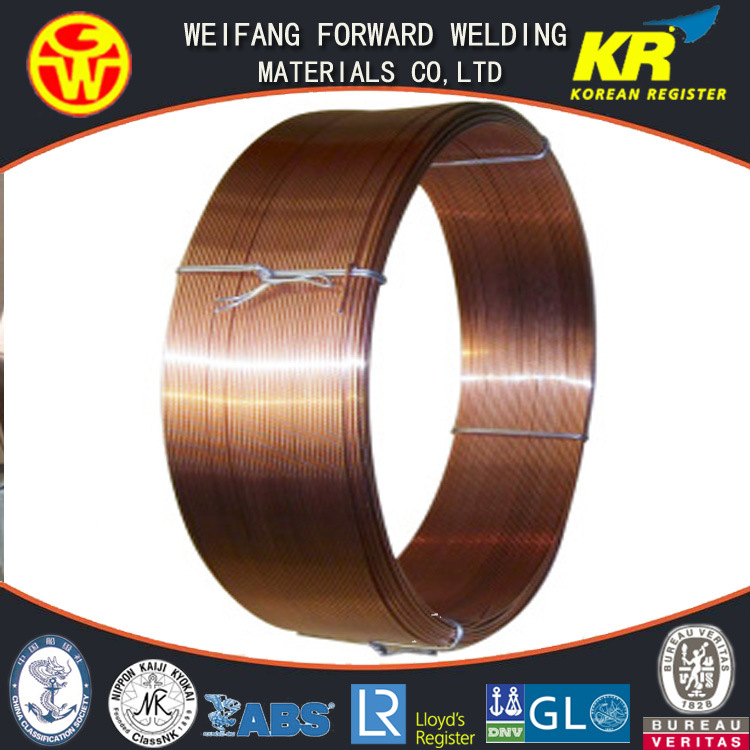 H08A EL12 Em12 Eh14 Welding Submerged Arc Welding Wire with Stable Arc