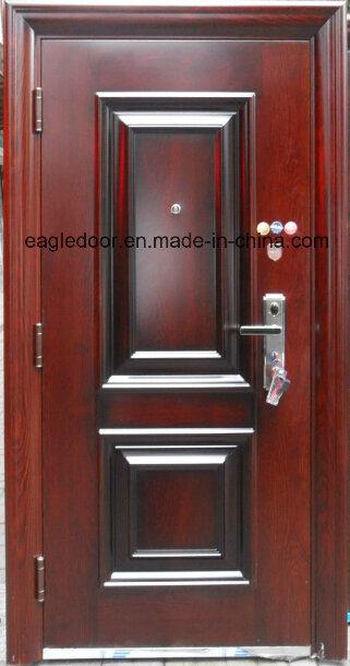 Best Price Security Exterior Steel Iron Door (EF-S076)