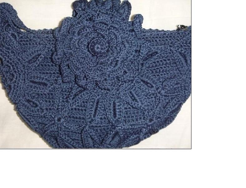 Handmade Crochet Handbags : China Handmade Crochet Handbag - China Bag, Purse
