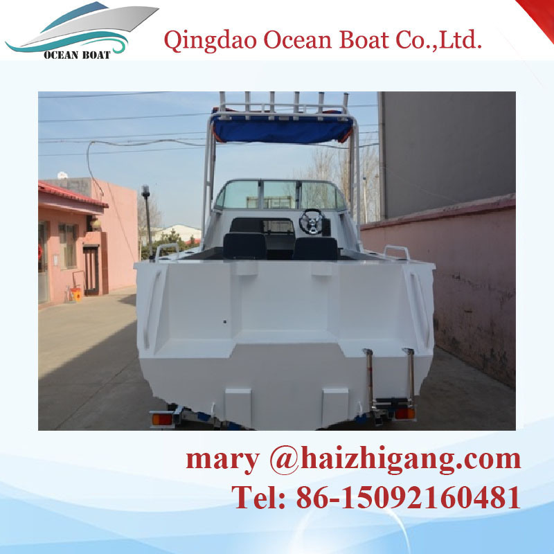 Australian Standard 17FT Aluminum Cabin Press Boat with Ce Certification