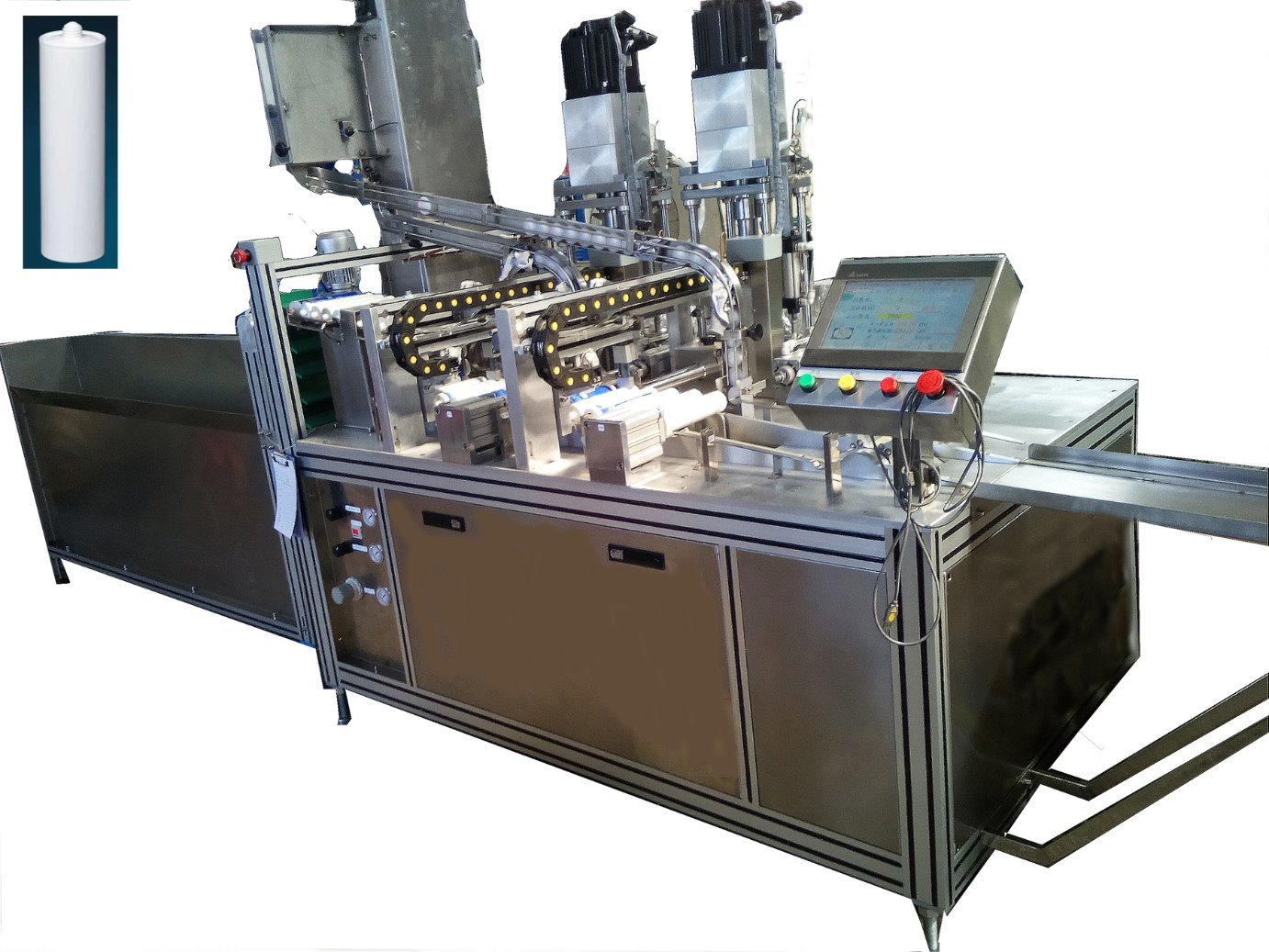 Silicon Automatic Filling Machine Silicone Repacking Machine