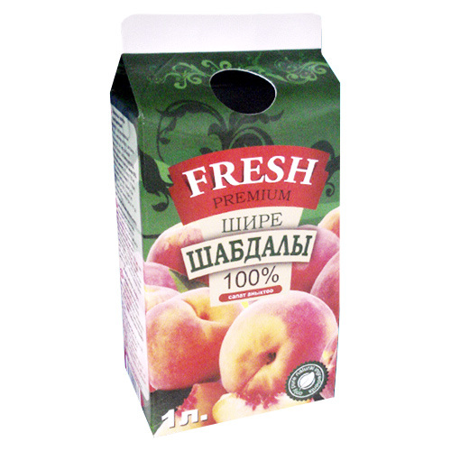 750ml Laminated Aseptic Juice Gable Top Carton Box