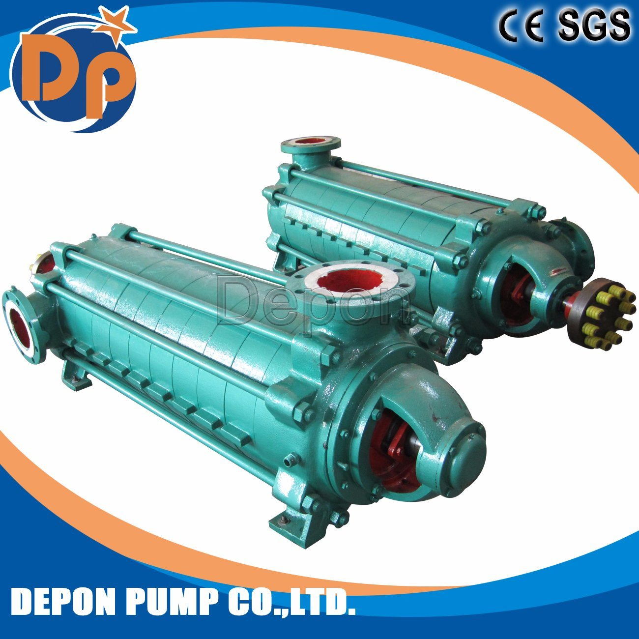Mechanical Seal 6 Stages Flood Centrifugal Pump