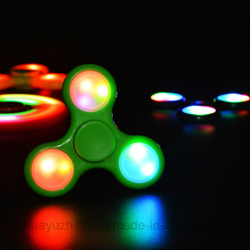 Hand Spinner with LED Light Good Quality Toy