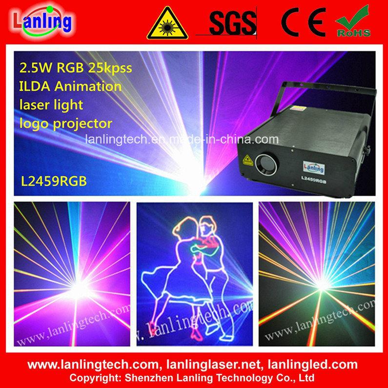 2.5W Animation Logo Laser Module