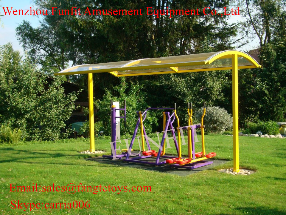 Outdoor Fitness Equipment Bonny and Slider Combination Device FT-Of344