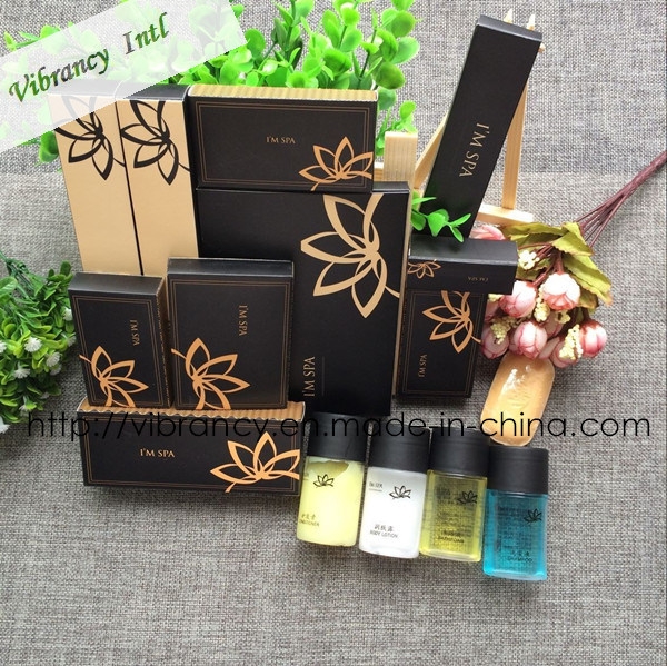 High Quality Hotel Amenities Manufactory with SGS Approved Hotel Amenity Set