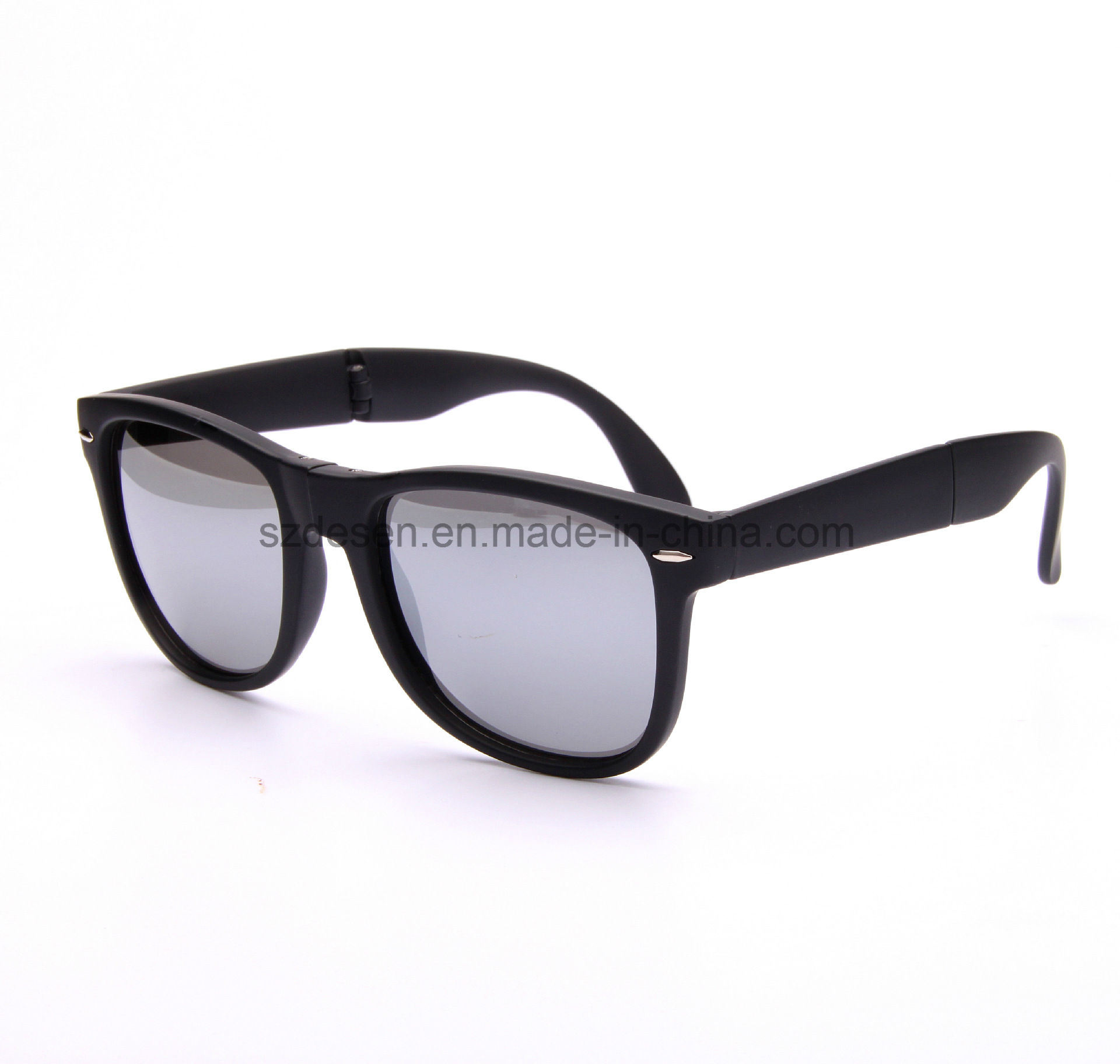 Wholesale High Quality Custom Logo Foldable PC Sunglasses