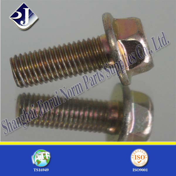 Alloy Steel Zinc Plated Flange Bolt (IFI-111)