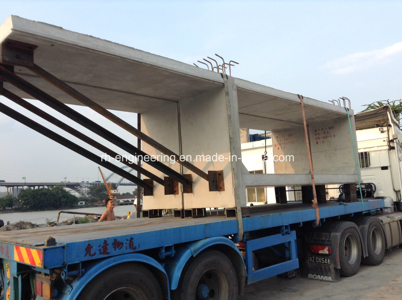 Segment Mould for Hong Kong Mtr Project