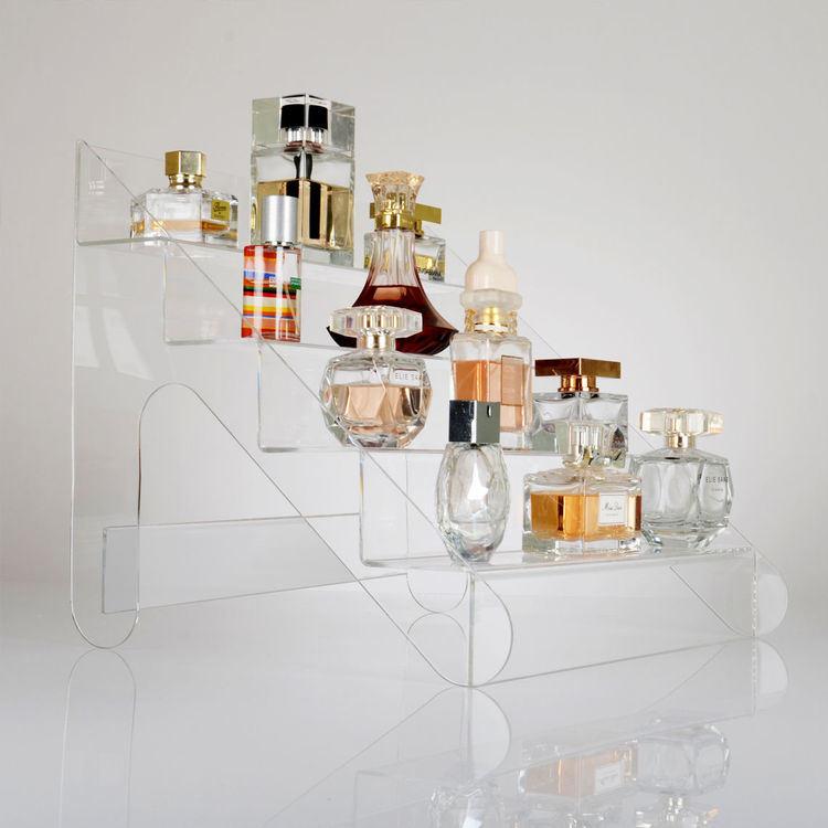 Acrylic Perfume Bottle Retail Display to Display Multiple Bottles