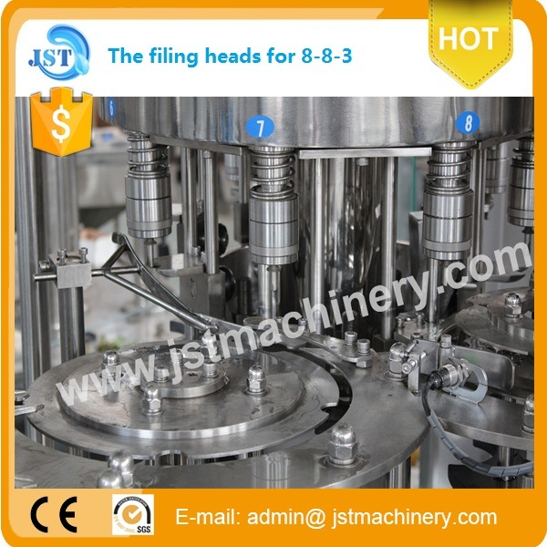 Pet Drinks Bottled Water Production Plant