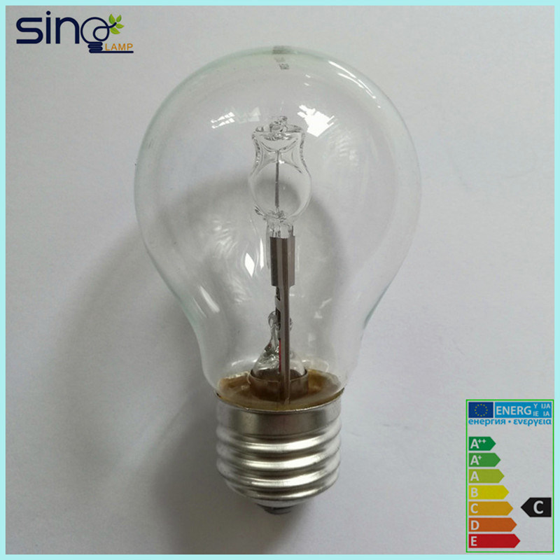 A55 Clear E27 Eco Halogen Lamp