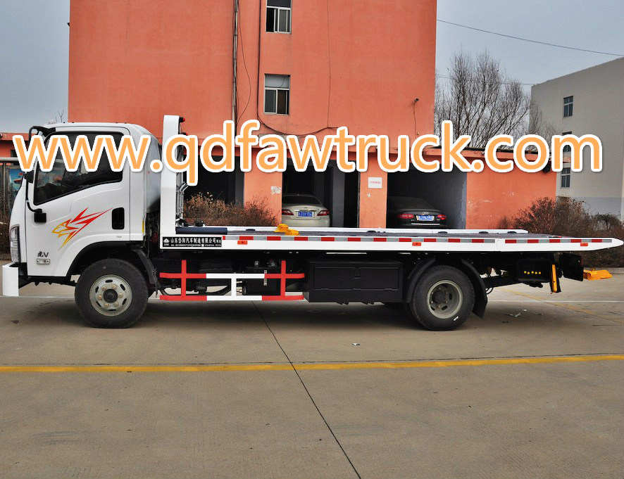 Specialized Vehicle, FAW 4X2 5 Tons Wrecker Truck