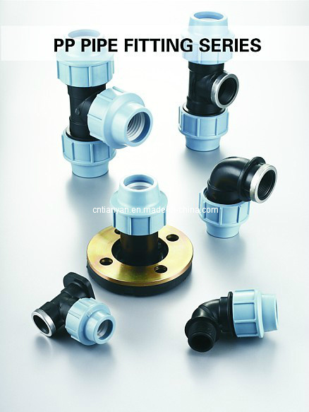 PP Compression Fittings Plumbing Supplies PP