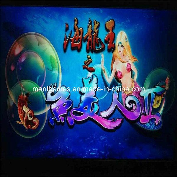 China mermaid simulator shooting fish game machine for for Fish game machine