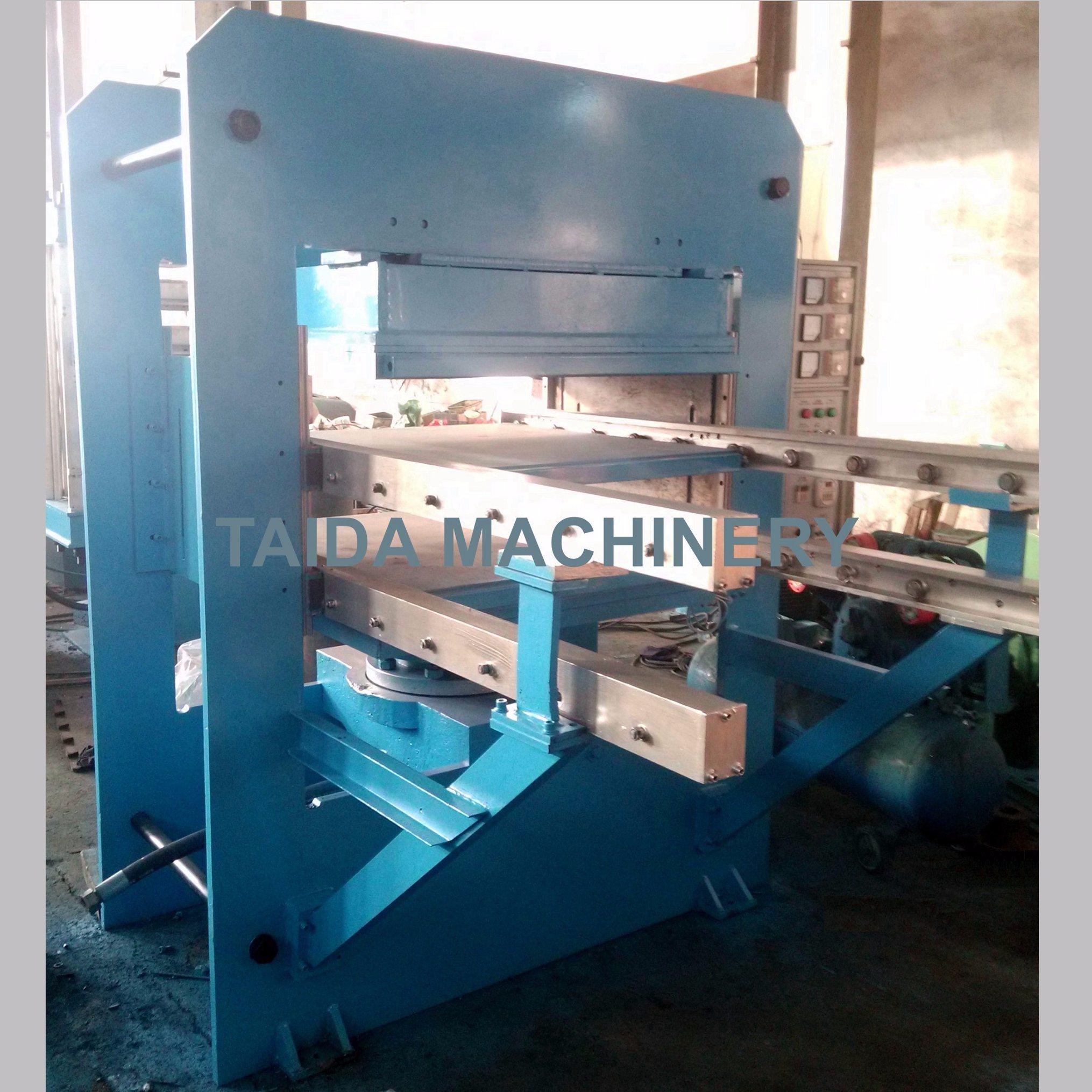 Automatic Rubber Tile Vulcanizing Press Making Machine Xlb-D1100X1100X2