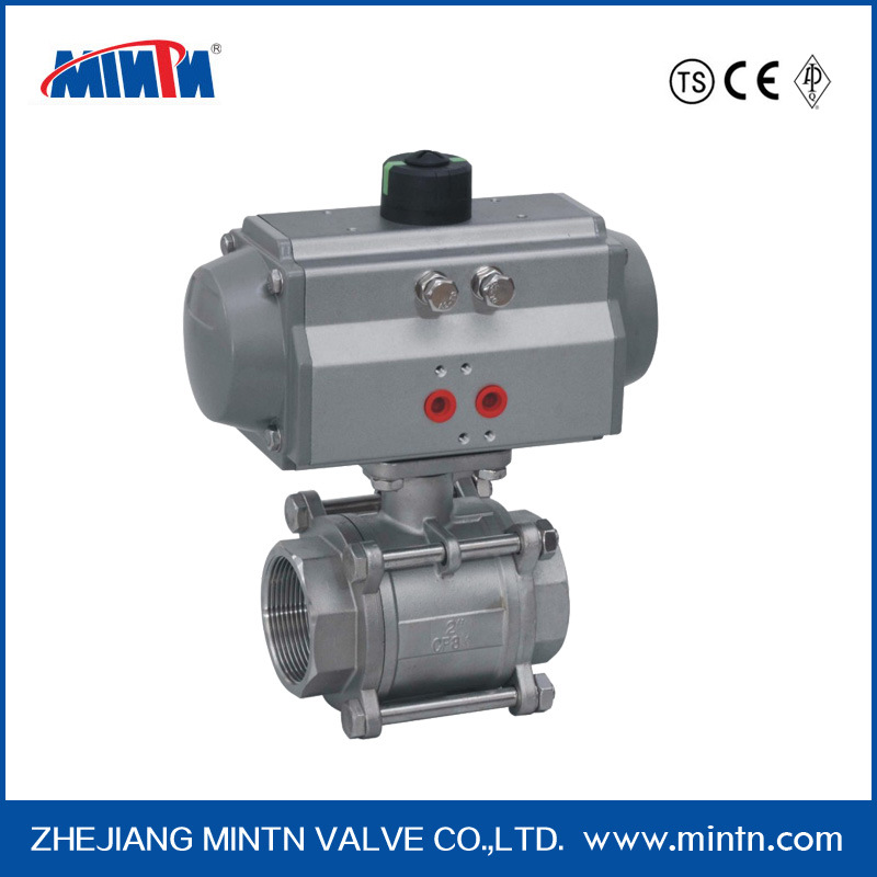 Pneumatic Ball Valve with Thread Ends