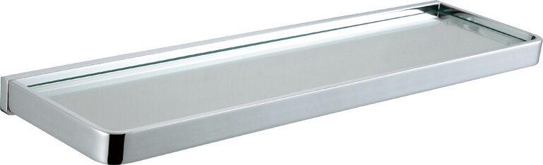 Modern Style Bathroom Glass Shelf