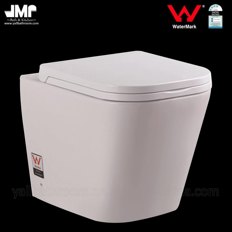 6015 Australian Standard Sanitary Ware Bathroom Wc Watermark Washdown Ceramic Toilet