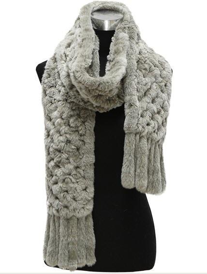Comfortbale Warm Fur Scarf (FB-90505)