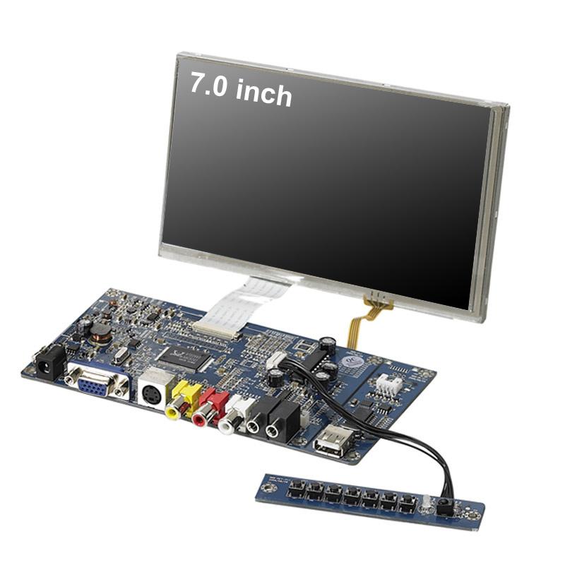 7 Inch VGA LCD Module with PCB Board Display