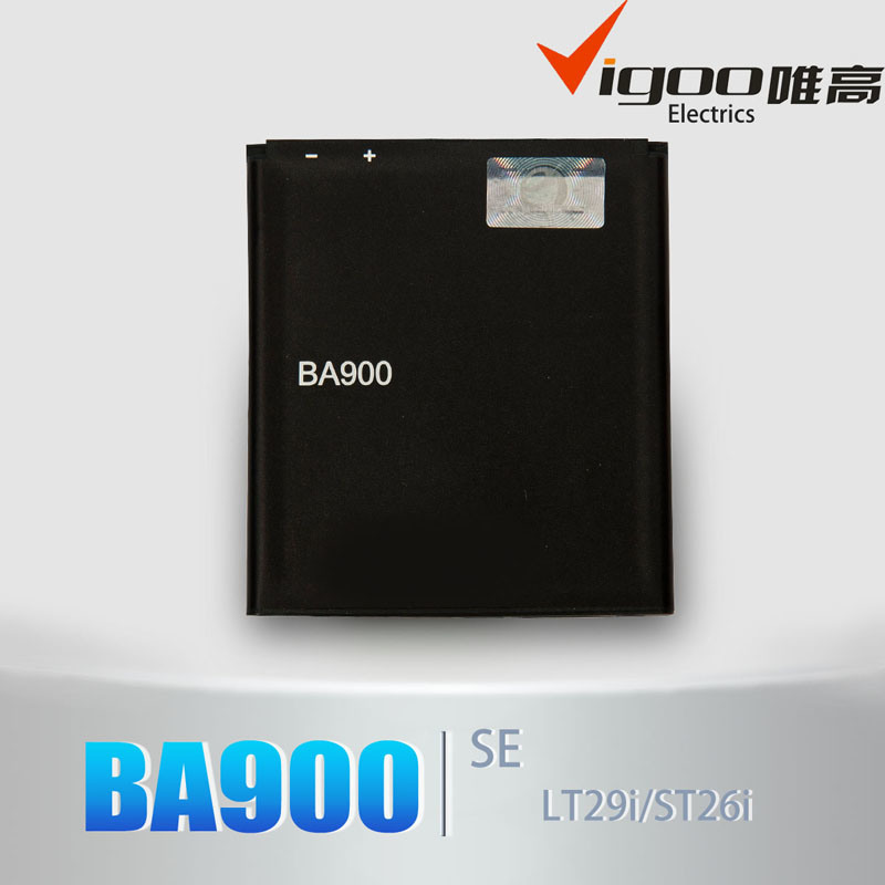 High Capacity Battery Ba900 for Sony Ericsson with Low Price