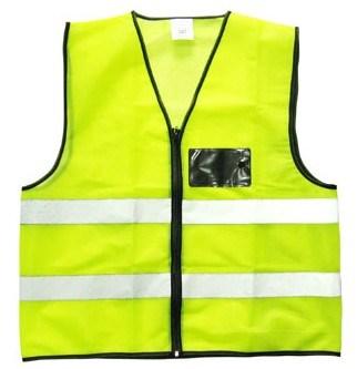 High-Vis Reflective Vest with Pocket V023
