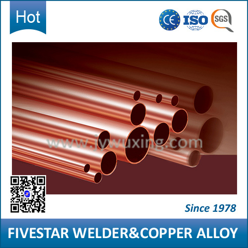 Hard Material C17510 Copper Pipes with Good Conductivity