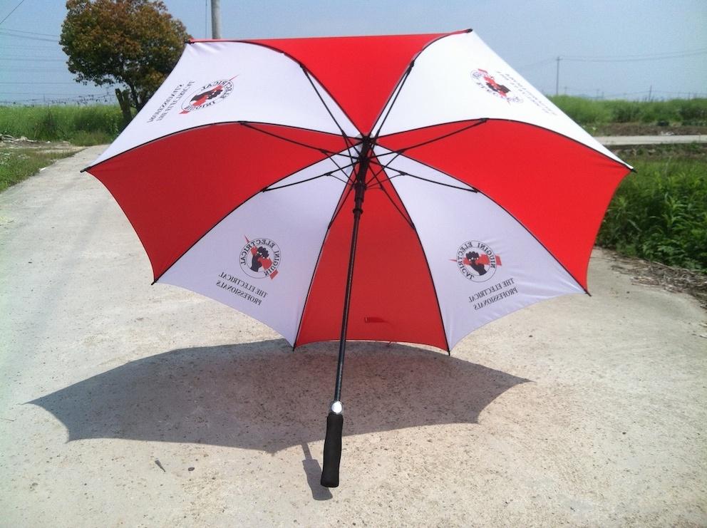 "30"" Auto-Open Golf Umbrella for Promotion (MP6014)"