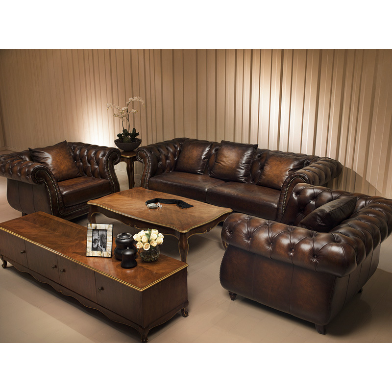China Stylish Classic Leather Sofa A3 Photos Pictures Made In: italienische sofa