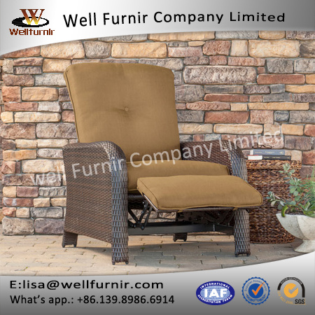 Well Furnir J012 Luxury Recliner Chair with Cushions