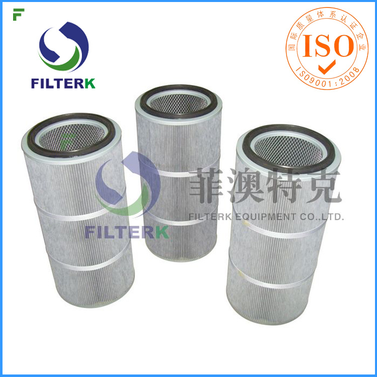 Industrial Polyester Dust Collector Cartridge Air Dust Filter