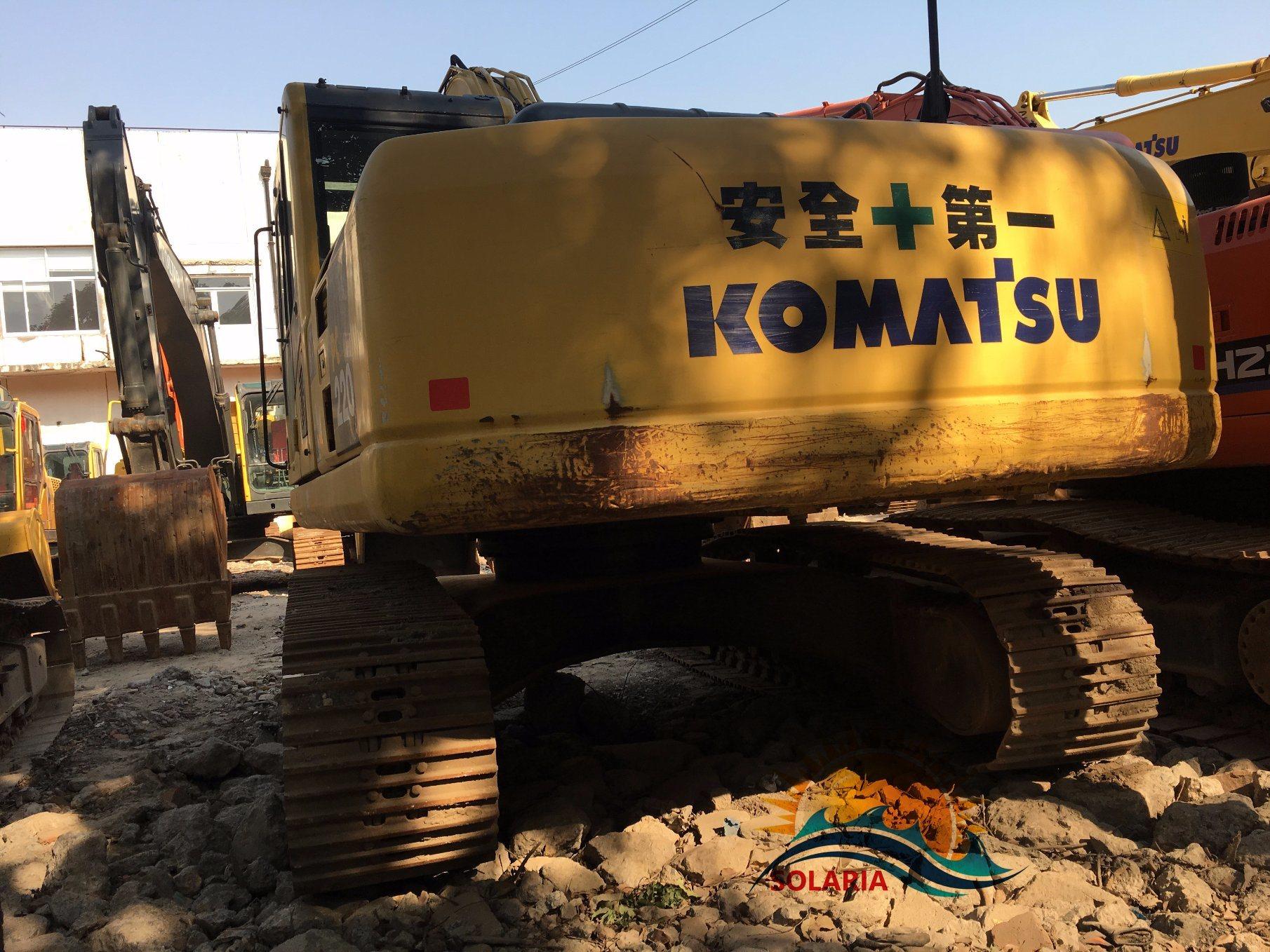 Komatsu PC220-8 Crawler Excavator Komats...