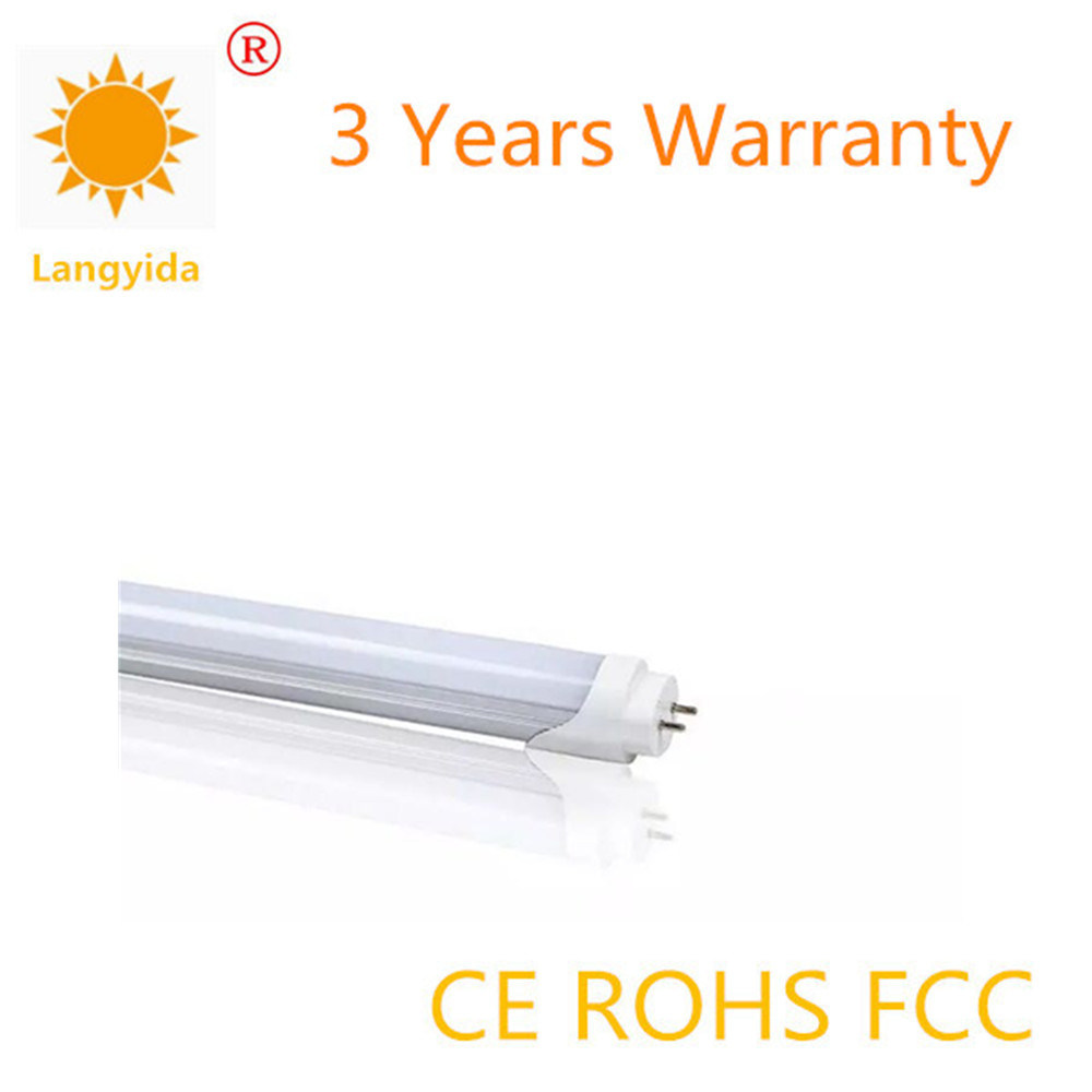 High Quality 9-18W Double Light Source T8 Tube 120-130 Lm/W with Ce RoHS