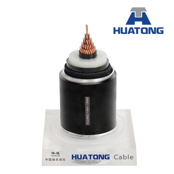Copper Conductor XLPE Insulated PVC Sheathed Armored Electric Power Cable