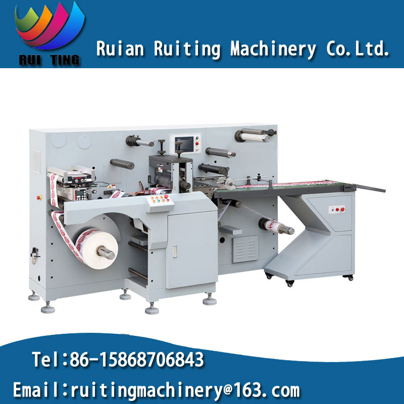 Rtml-330 in Mould Sticker Rotary Die Cutting Machine with Sheeter