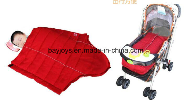 100% Cotton Fabric Infant Stroller Footmuff