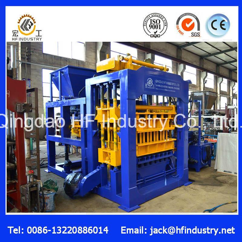 Qt10-15 Automatic and Hydraulic Concrete Block Machine/Cement Brick Machine/Hollow Brick Machine/Interlock Block Machine