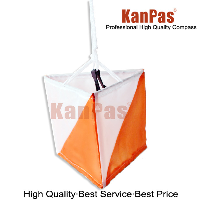 Kanpas Orienteering Marker Flag/Control Flag, 15X15 Cm (Medium Size)
