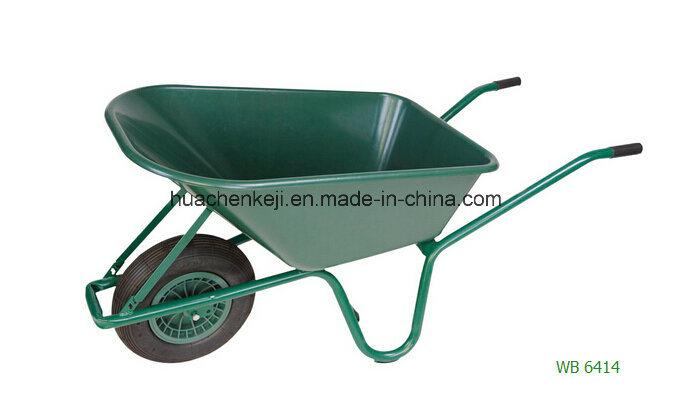 Hot Sales Garden Wheel Barrow Plastic Tray Trolley
