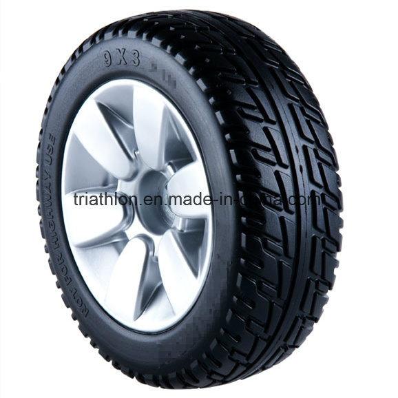 8X2 9X3 10X3 PU Foam Flat Free Tires