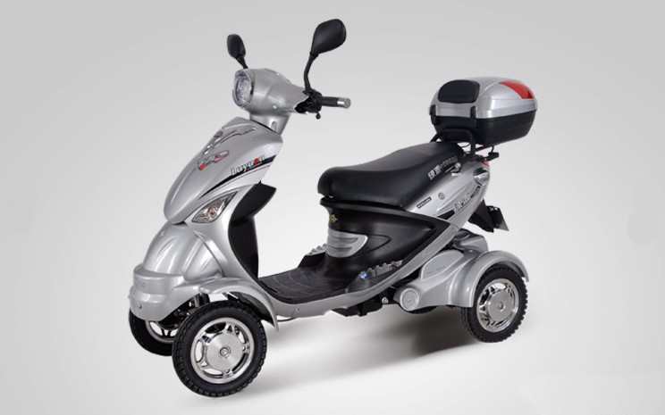 Four-Wheeled Disabled Old People Electric Mobility Scooter