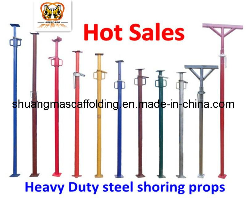 Construction Heavy Duty Scaffolding Steel Post Shoring Props