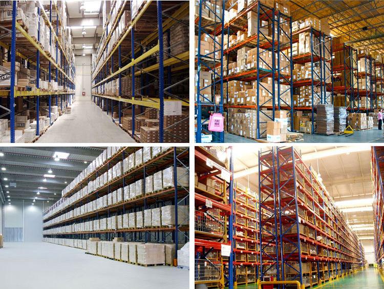 Heavy Duty Steel Industrial Warehouse Storage Drive-in Pallet Racking
