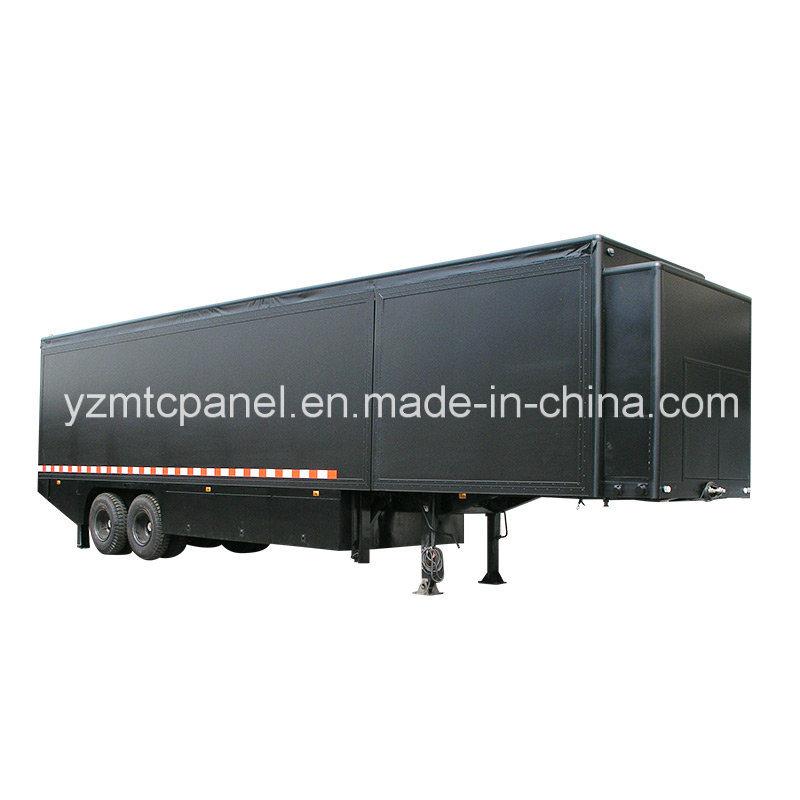 High Strength FRP CBU Dry Truck Body