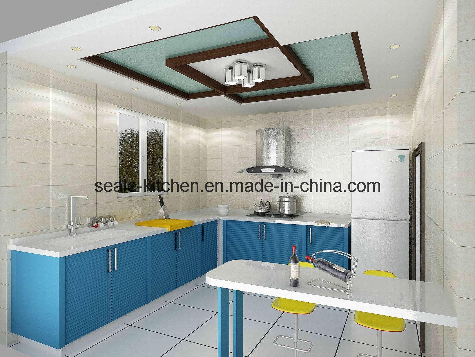 Blue Lacquer Kitchen Cabinets – Quicua