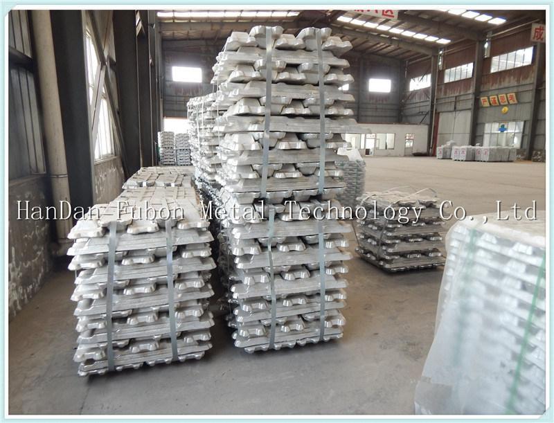 2017 Hot Sale Primary Aluminum Ingots 99.7%