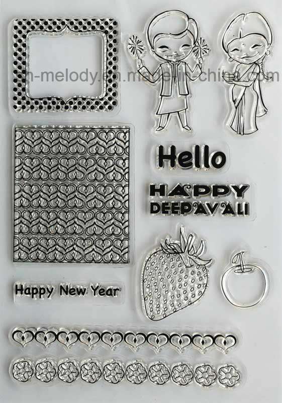 Cute Clear Stamp for Scrapbook/Papercrafts/DIY Projects